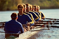 Team sport rowing