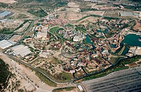 Universal Port Aventura. Themapark built when Spain lost out in its bid for Eurodisney. The amusement park flaunts its roller coaster, allegedly the w...