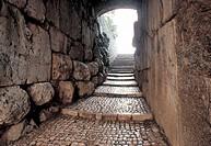 italy, lazio, alatri, cyclopean masonry