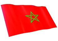 Flag of Morocco (thumbnail)