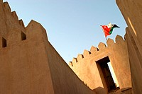 Al Rustaq fort in Oman (thumbnail)