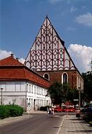 Frankfurt/Oder, Franziskanerkirche/Blick von Westen