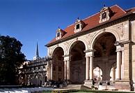 Prag/ Waldstein Palais, Sala Terrena