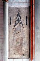 Marburg, Pfarrkirche St. Marien/Mariendarstellung im Chor