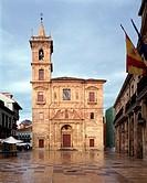 Oviedo, Rathausplatz, Kirche San Isidoro 1616-1681