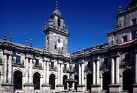 Santiago de Compostela, San Martin Pinario, Prozessionskreuzgang