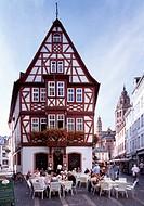 Mainz, Altstadt/ Fachwerkhaus
