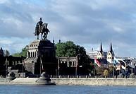 Koblenz, Deutsches Eck/ Denkmal