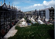 Carnota, Friedhof
