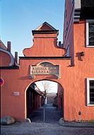 Stralsund,  Kloster zum heiligen Geist (Heilgeisthospital)/Klosterportal