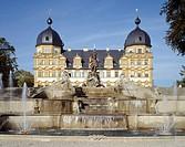 Seehof, Schloß/ Schloßbrunnen