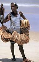 brazil, porto seguro, handicraft