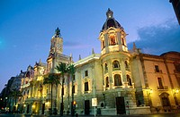 City Hall, Valencia. Spain
