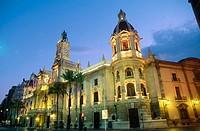 City Hall, Valencia. Spain