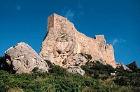 Castell del Rei (King's Castle), Ternelles. North Majorca, Balearic Islands. Spain