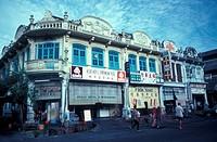 Old shophouses, Taiping, Perak, Malaysia