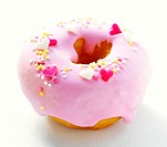 Strawberry Frosted Donut (thumbnail)