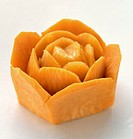 Carrot in the Shape of a Flower