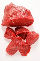 Beef, diced