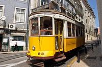 Tram, Lisbos. Portugal.
