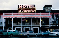 Historic Hotel el Rancho on Route 66, Gallup. New Mexico, USA