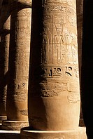 Great Hypostyle Hall. Karnak Temple. Luxor. Egypt.