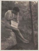 ´Nude Youth with Lyre´, 1907.Photograph by Fred Holland Day (1864-1933).