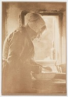 ´Woman Washing´, 1908.Photograph by Rudolf Duhrkoop (1848-1918).