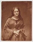 ´A Devotee´, c 1860s.Photograph by Oscar Gustav Rejlander (1813-1875).