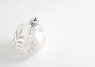 Glass Christmas tree decoration