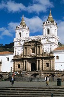 San Francisco Church. Quito, Ecuador.