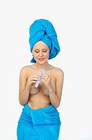 Woman Towel