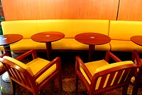 View of chairs and table at a restaurant