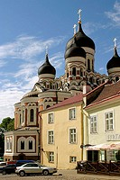 Nevski cathedral. Tallinn. Estonia.