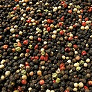 Various peppercorns