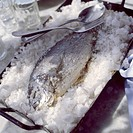 Salted sea bream