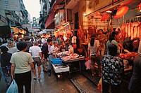 Wet market Wanchai