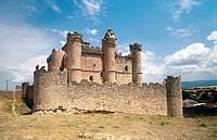 Castle of Turégano. Segovia province, Castilla-León, Spain