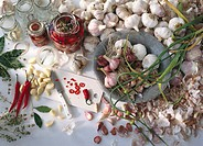 Bulb, Clove, Food, Garlic, Home, Ingredient, Jar, Life, Made, Mediterranean, Pickle, Pickling, Preserve, Preserved,