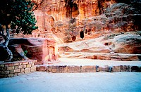 Historical site in Petra, Jordan
