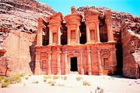 Facade of Ed Deir (The Monastery), Petra, Jordan (thumbnail)