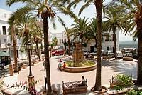 Plaza de España. Vejer de la Frontera. Cádiz province. Andalucía. Spain.