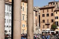 Pantheon. Piazza della Rotunda. Rome. Italy