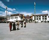 Jokhang temple, Lhasa. Tibet