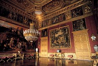 italy, piemonte, turin, room of palazzo reale