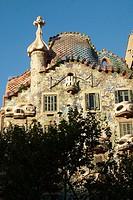 Batlló House. Barcelona. Spain.