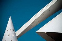 Palacio de las Artes. City of Arts and Sciences by S. Calatrava. Valencia, Spain