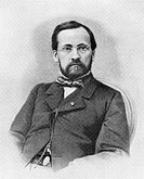 Louis Pasteur (1822-1895), French chemist and microbiologist. Pasteur found that fermentation is caused by microorganisms, and also proposed the germ ...