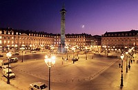 Place Vend&#244;me. Paris. France