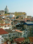 Alfama neighbourhood. Lisbon. Portugal. (Sept. 2003)